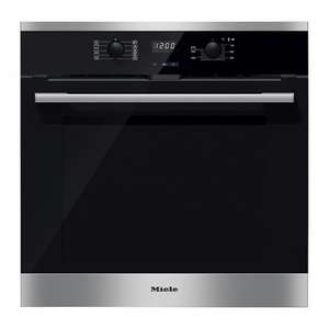 Miele H2566BP Built-In Single Oven, Stainless Steel £665.10 (£739 less 10% discount applied at checkout) Marks Electrical (with free £100 Flexi Runners by redemption)