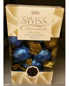 M&S Swiss Chocolate Tuffles Half Price £6 instead of £12
