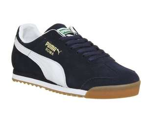 Puma Roma Navy - 27.50 Delivered with code @ Office Shoes