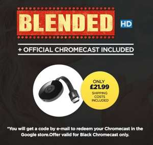 Google Chromecast 2 Plus Blended (HD) - £21.99 - Wuaki