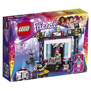 LEGO Friends 41117: Pop Star TV Studio Mixed £10.70 Amazon Prime