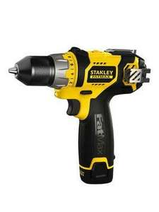 Stanley Fatmax 10.8v drill driver £45 with code (first customers only) at Very
