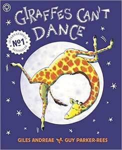 Giraffes Can't Dance paperback book Giles Andreae £2.80 Amazon Prime