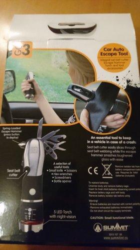 GO 3 car auto escape tool £5 @ tesco (instore)