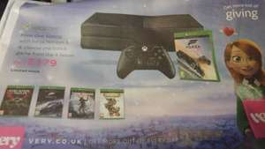 Xbox One + Forza Horizon 3 + another game for £179 @ Very