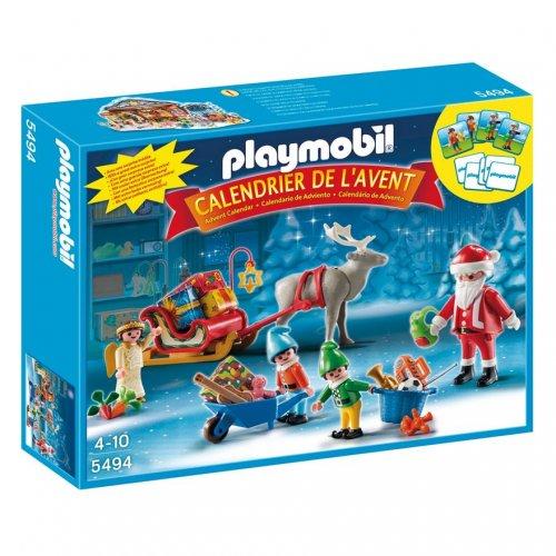 Playmobil Santa's workshop advent calender at Smyths Toys for £9.99