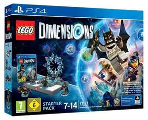 LEGO Dimensions: Starter Pack (PS4) at Amazon for £28.49