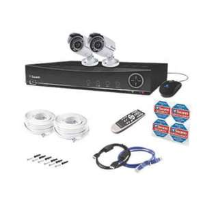 SWANN CCTV DIGITAL VIDEO RECORDER WITH 2 CAMERAS Now half price @ Screwfix