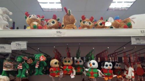 TY beanie Alpine Reindeers (Christmas beanies) 99p at Home Bargains (rrp £6.99)