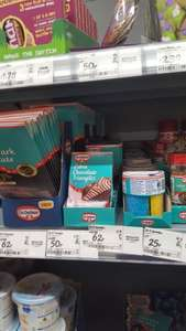 Various Dr. Oetker items reduced to clear at Asda  (RADCLIFFE) from 25p.