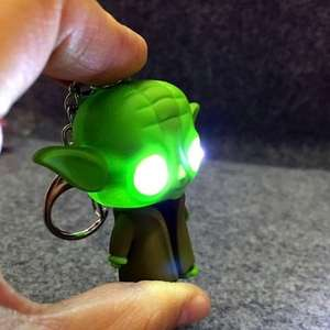 Yoda & Batman light up keyrings 81p each using code @ SammyDress