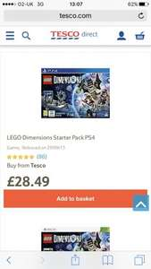 LEGO Dimensions £28.49 Tesco direct