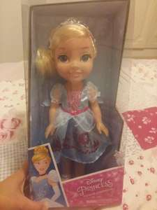 Disney Cinderella Toddler Doll £9.99 B&M Plymouth. Belle too.