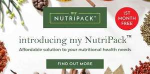 Simply Supplements' new NUTRIPACK subscription! first month of meds free! £20 odd worth of stuff!
