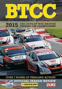 BTCC 2015 Review (2 Disc) DVD £7.49 @ Duke