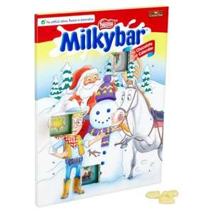 Nestle Milkybar Advent Calendar 75p @ Tesco From 09/11
