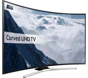 "SAMSUNG UE55KU6100 Smart 4K Ultra HD HDR 55"" Curved LED TV - £699 - Currys PC World (Ebay Store)"