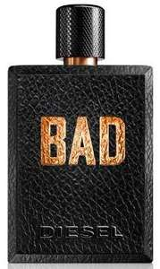 Diesel Bad aftershave 125ml+free weekend bag+free sample £46.32  (with code) @ Fragrance Shop