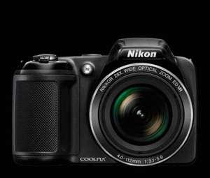 Nikon coolpix l340 Digital camera 20mp 20x zoom -black Argos £99.99 (Free C&C)