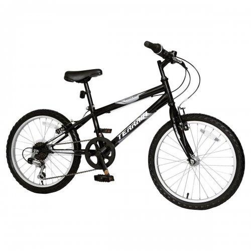 """Brand New Terrain Hallam 20"""" Wheel Kids Mountain Bike Black 14"""" Steel Frame £55.00 Delivered @ Tesco Outlet (ebay)"""