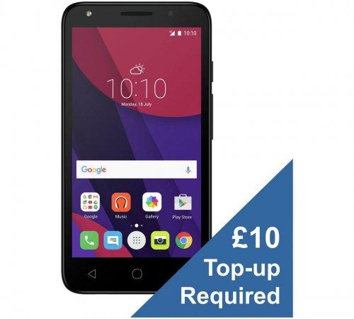 "Alcatel Pixi 4 (5"" 3G Model) on Virgin £29.99 @ Argos"