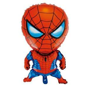 Self Sealing Re-usable 80cm Spider-Man Balloon 46p Del @ Gearbest (+ more in OP)