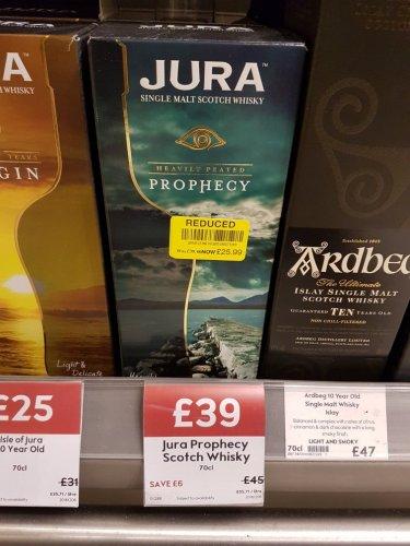 Jura Prophecy 70cl @ Waitrose (Mill Hill East) - £25.99