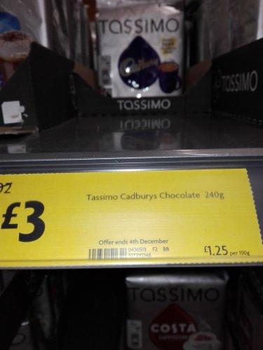 Tassimo pods £3 / £4 at Morrisons - INSTORE