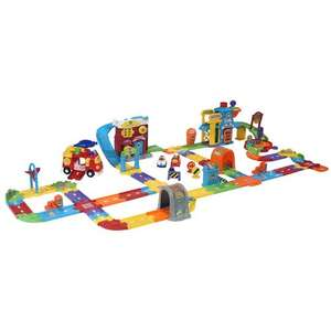 Toot toot drivers super city massive play set was £119.99 now £59.99 + free gift vtech secret safe diary or vtech bathtime singing froggy worth £24.99 @ Toys r us
