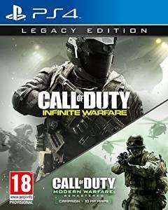 Call of Duty: Infinite Warfare Legacy Edition PS4 XO £59.99 at amazon or £57.99 with prime