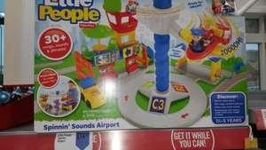 Fisher Price Little People Spinnin sounds Airport £14.99 @ Iceland - Hull Anlaby