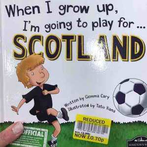 WHEN I GROW UP Book .. TESCO MARYHILL for 50p