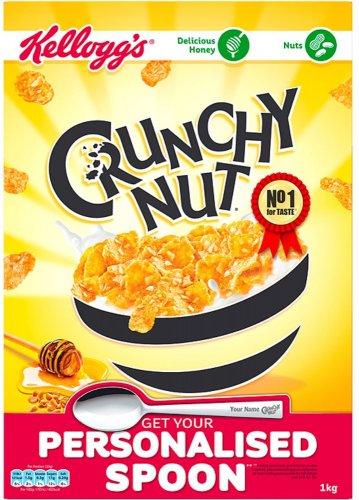 Kellogg's Crunchy Nut Cornflakes (1Kg) was £3.99 now (BOGOF) @ Ocado