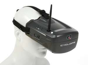 Quanum Cyclops FPV Goggles £32.28 / £38.93 delivered Hobbyking