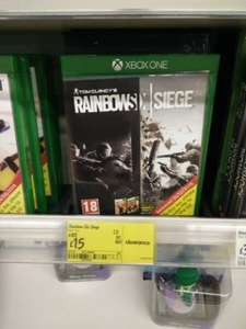 Tom Clancy's Rainbow Six Siege £15 @ Asda - Chesterfield