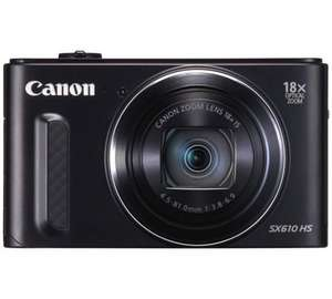 Canon Powershot SX610 20MP 18x Zoom Compact Digital Camera £99.99 @ Argos