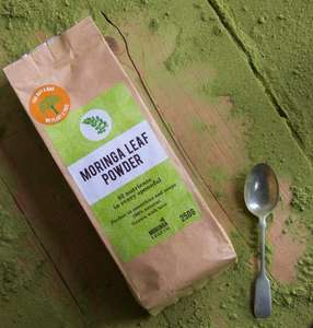 Moringa Powder HALF PRICE! Organic and keep fit this winter!! *while stocks last* £7.49 prime / £11.48 Sold by moringaleafcompany and Fulfilled by Amazon