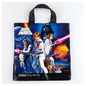 Tesco Star Wars Classic Woven Polypropylene Bag - 25p instore (Swindon Store)