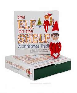 Elf on the Shelf boy or Girl available at Mothercare. Included in the 3 for 2 items, £29.99 so potentially down to £20 each if you have 2 other items to buy at the same price. How about buying both the boy and girl elf scout plus a 50% off toy making