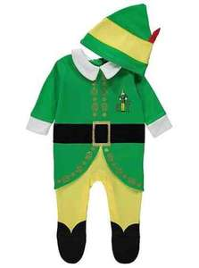 Baby Buddy the Elf All in One and Hat £8 @ George