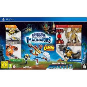 Skylanders Imaginators Starter Pack - Crash Bandicoot Limited Edition PS4 at Zavvi for £64.99