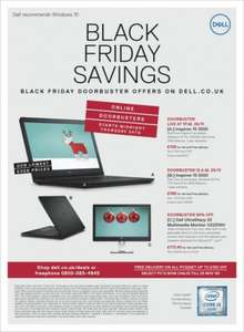 Dell Black Friday | 10.5% Quidco plus 12% coupon |- Celeron laptop for £129, i3 laptop £199, i5 2in1 laptop for £449, 28inch 4k monitor £263.40, free delivery