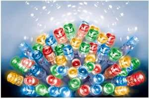 200 LED multicoloured Christmas/New Year/Easter/Summer/Whatever Indoor/Outdoor Lights £11.62 @ CPC