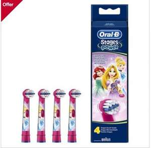 Oral-B Disney Stages Power Toothbrush Heads (4 Pack) at Boots for £11.99