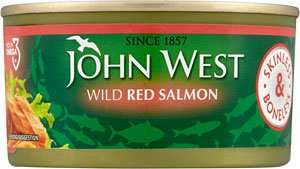 John West Skinless And Boneless Red Salmon 170g £1 @ Home Bargains(Liverpool)