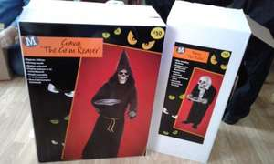 50-75% off halloween props decorations morrisons