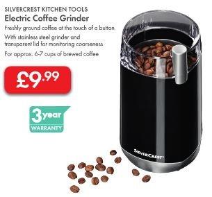 Coffee Grinder (Electric) £9.99 - 3 Year Warranty - LIDL (Silvercrest)