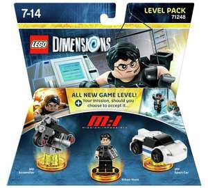 LEGO® Dimensions Mission Impossible Level Pack (RRP £29.99) £15.99 + 342 @ Argos