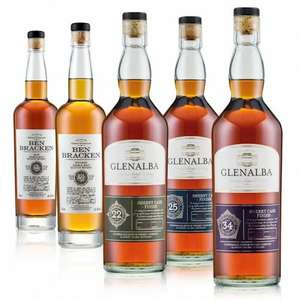 lidl 22-34year old blended and single malt whisky £22.99