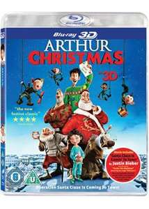 Arthur Christmas in 3D (Blu-ray + Blu-ray 3D + UV Copy) £1 in store @ Poundland